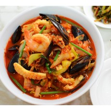 Spicy Seafood Soup(Champong)